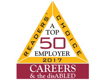 CAREERS & the disABLED Top 50 Employer